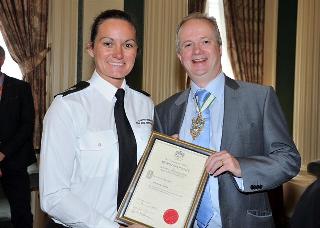 Fire service staff honoured at awards ceremony