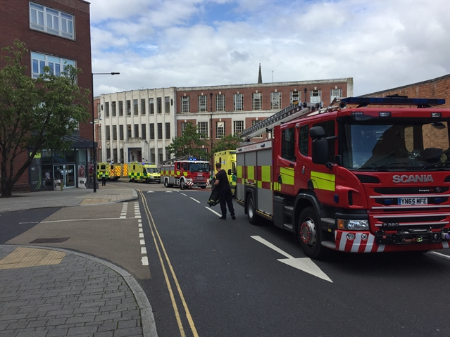 More photos from Howard building fire in Rotherham town centre