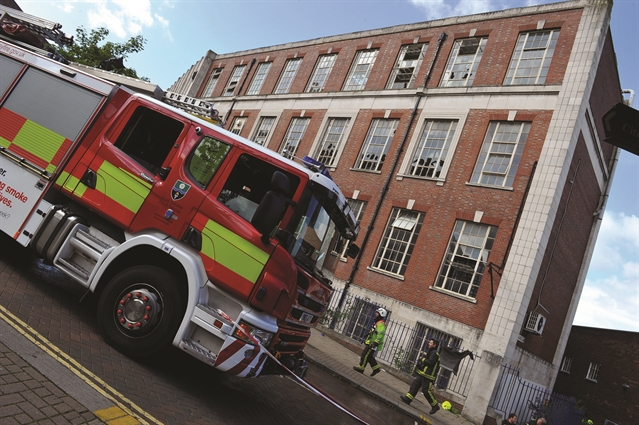 Police issue appeal over blaze at Rotherham's Howard building