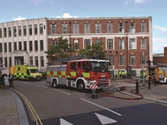 Howard building fire was 'accidental'