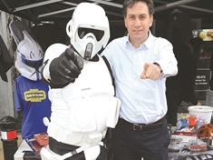 PHOTO GALLERY: MP Ed meets Mexborough's superheroes