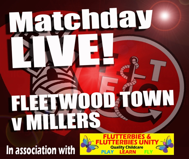 MATCHDAY LIVE: Fleetwood Town v Rotherham United