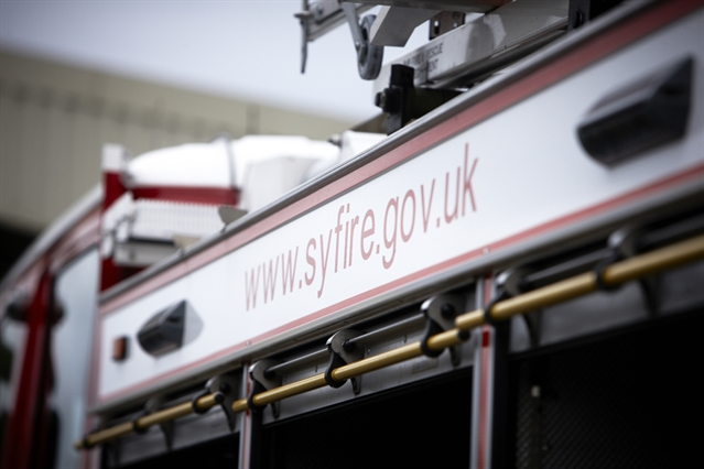 Pensioner treated after kitchen fire