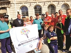 Excitement builds as Special Olympics torch passes through Rotherham