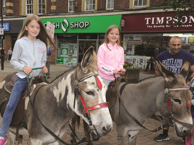 PHOTO GALLERY: Animal magic in Rotherham town centre