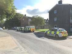 BREAKING: Man's body found at block of flats