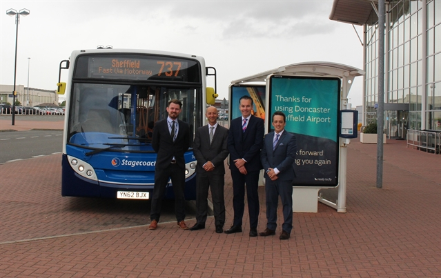 New Bus Service To Doncaster Sheffield Airport To Launch