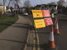 Doncaster Road closed while gas mains replaced