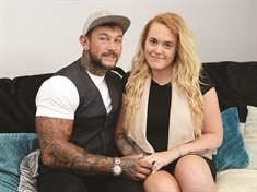Brave Ashley proposed on way TO holiday