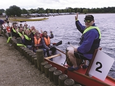 Advertiser team stick their oars in at Bluebell Wood fundraiser
