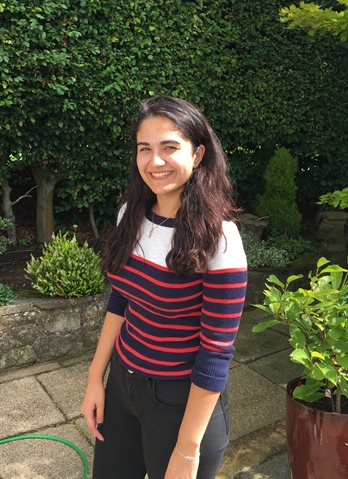 Faith takes a break after amazing A-level success