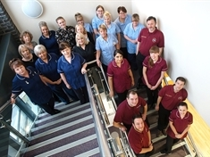 Ear care team shout loud about national award nomination