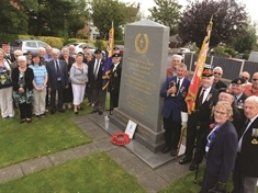 Service marks century since death of First World War soldier