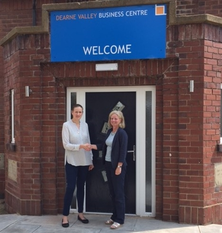 Wath business centre welcomes its first tenant
