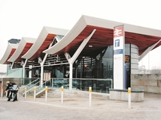 Rail services disrupted at Rotherham Central station