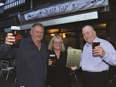 Wath Tap celebrates pub of the year prize