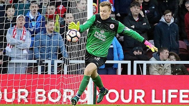 Rotherham United loan shot stopper