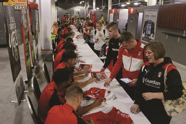 PHOTO GALLERY: Fans meet their heroes at Millers' open day