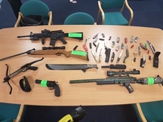 Police seize weapons after man arrested in Canklow