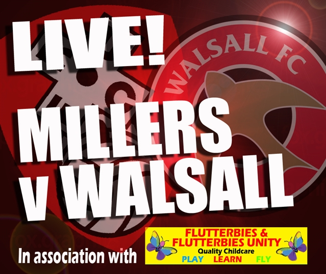 MATCHDAY LIVE: Rotherham United v Walsall