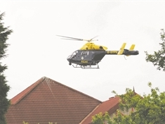 Court date for man charged with putting police helicopter safety at risk