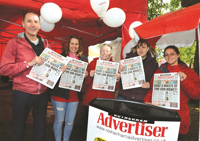 Advertiser is on the move