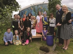 Time capsule buried by Wickersley schoolchildren