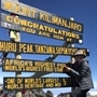 Delighted Angela 'smashes' Mount Kilimanjaro