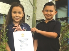 Burgled eco-friendly Goldthorpe school receives gold award boost