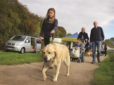 Guide Dogs out to set tails wagging with Thrybergh event