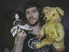 Meet the haunted teddy of Rawmarsh