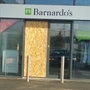 Break-in at Parkgate charity shop