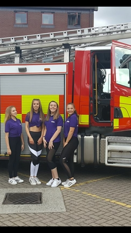 Fire dancing raises funds in Rotherham