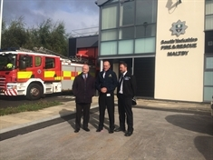 South Yorkshire's first joint fire and police station opens its doors