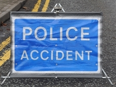 Major road in Parkgate blocked after accident