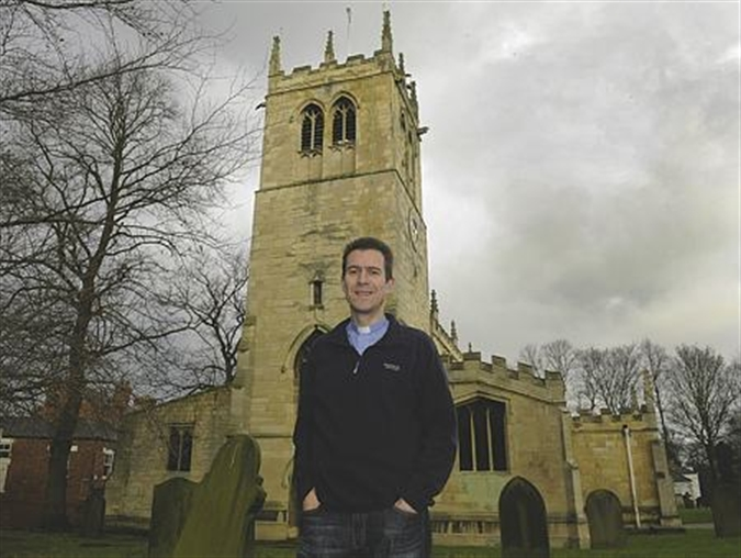Conisbrough clergyman's journey to the church