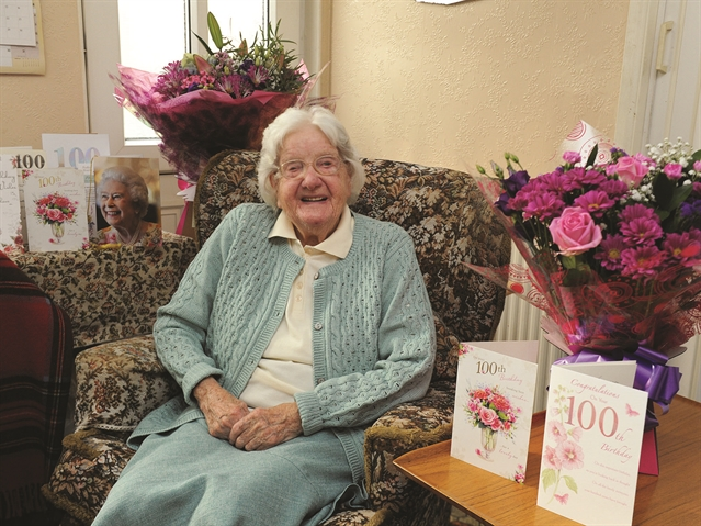 West Melton's Edna reveals secret to 100-year life