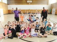 Athletics sessions are a hit with kids
