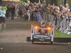 VIDEO: Driver's eye view of soapbox derby course in Clifton Park