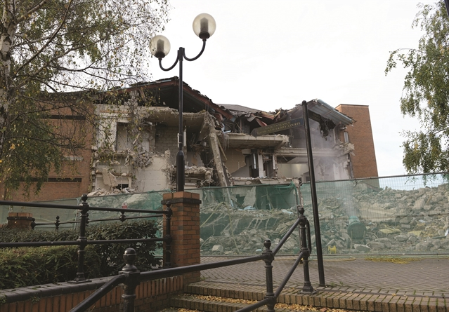 Demolition starts on Rotherham law courts