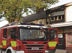 Four fire crews called to Goldthorpe flat blaze