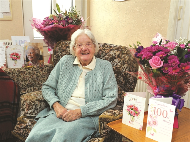 Seaside trips the secret to long life for 100-year-old Edna