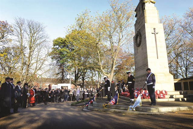 Remember the fallen at services across Rotherham