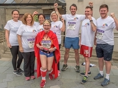 Hospital staff and supporters take on Steel City challenge