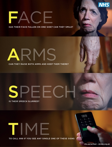 HEALTH & WELLBEING: When Stroke Strikes Act F.A.S.T