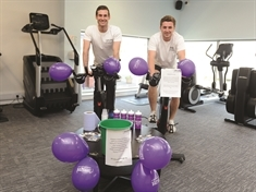 Mayor takes part in Rotherham gym's 24-hour charity bike ride