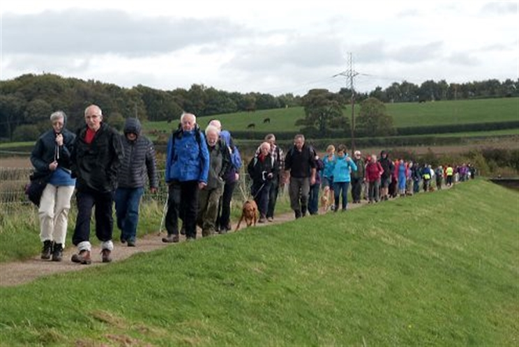 Walking festival's successful return to Rotherham attracts hundreds