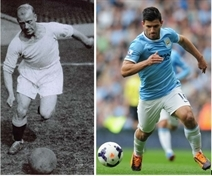 Man City legend Sergio matches up to Mexborough record-breaker Eric