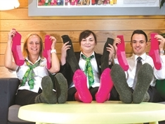 Sock it to them to help Rotherham's homeless