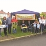 'Frackoween' anti-shale gas protest in Woodsetts